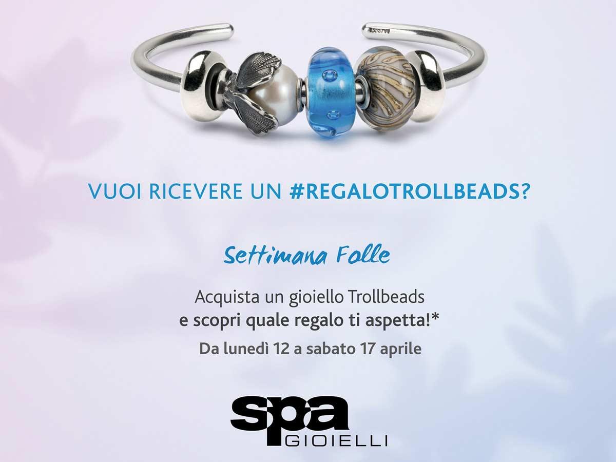Gallerie Big, Promo SPA Gioielli Trollbeads