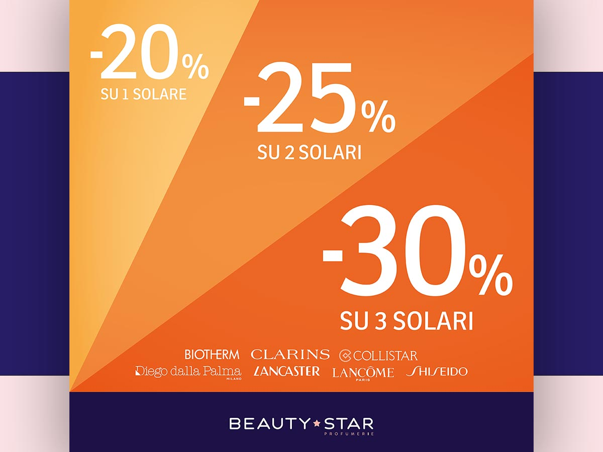 Gallerie Big, Promo Beauty Star di Aprile